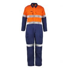Torrent HRC2 Hi Vis Two Tone Coverall with FR Reflective Tape